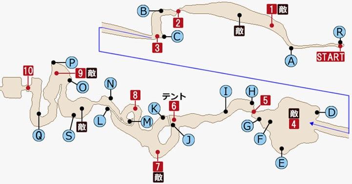 FF15 エピソード・グラディオラスの攻略マップPart1