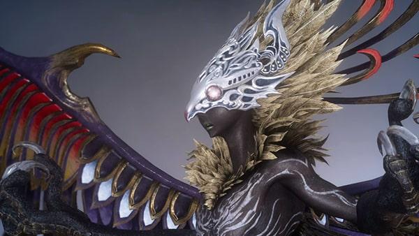 古の二十四使『風の御使』を召喚獣