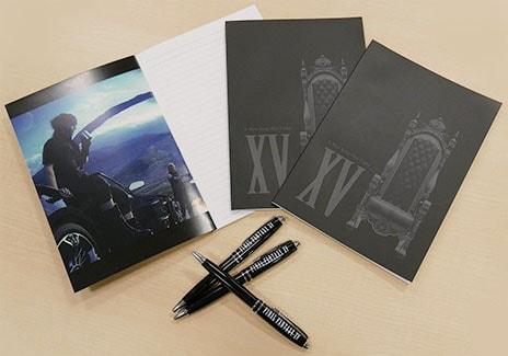 FF15のボールペン&ノート(非売品)