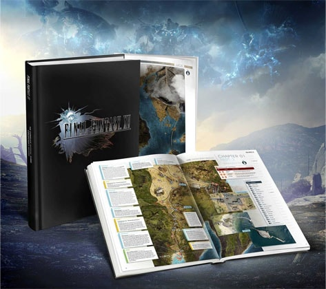 Final Fantasy XV The Complete Official Guide Collectors Edition