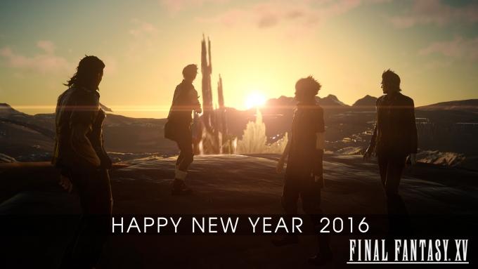 FF15-happy new year 2016