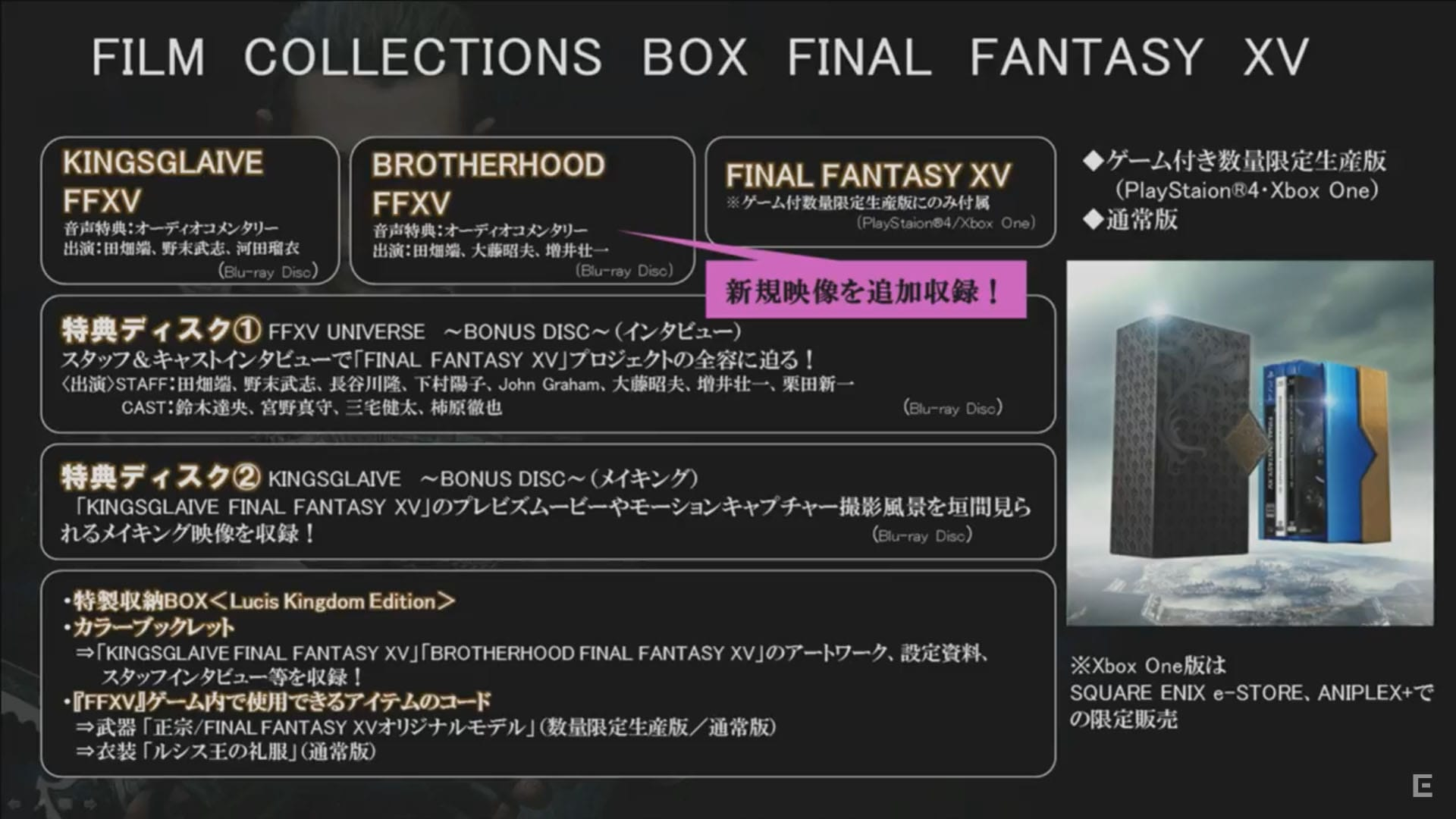 Film Collections Boxの詳細