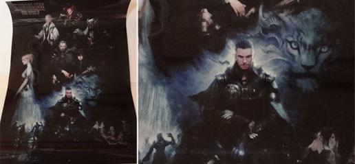 キングスグレイブFF15のA2クリアポスター
