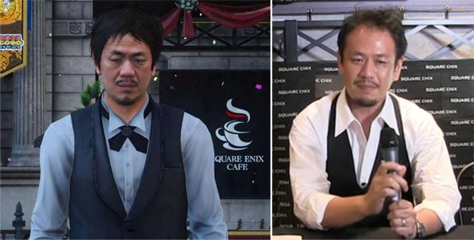 スクエニカフェの店員の高橋氏
