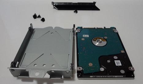 PS4 PROのハードディスクをSSDに取り換える