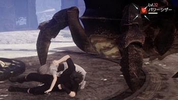 ノクティスとサラが失敗するバックアタックリンクの画像
