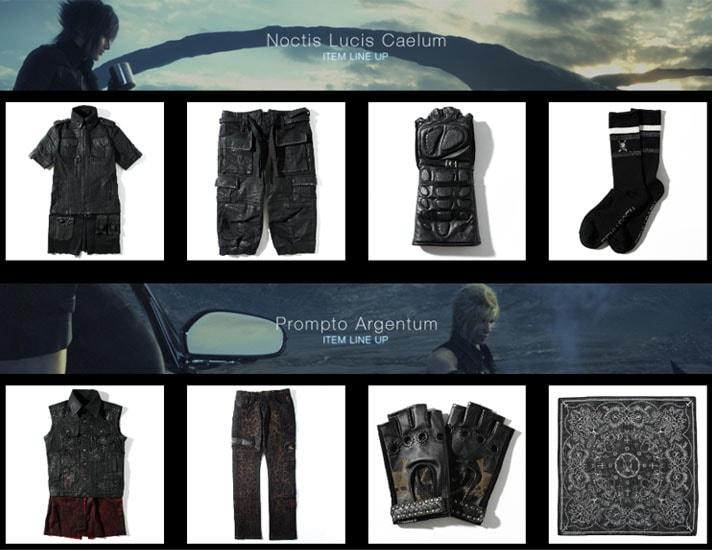 Roen(ロエン)のFF15のレプリカ衣装