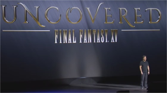 UNCOVERED FF15のオープニング