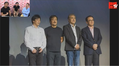 UNCOVERED FF15での記念撮影