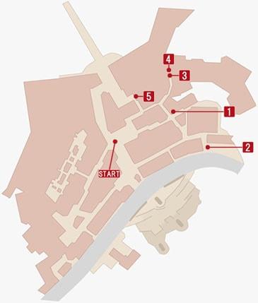 真・アサシントレジャーハントの攻略マップ