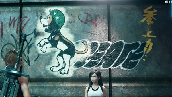 忠犬スタンプの画像