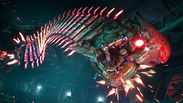 FF7リメイク版のソードダンスの画像