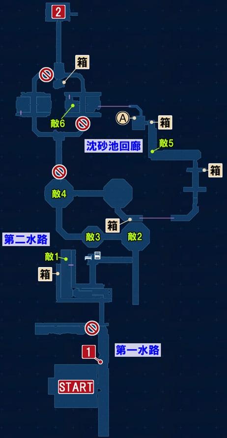 FF7リメイクのそれぞれの決意 ~ 情報収集の攻略マップ