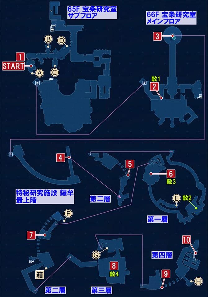 FF7リメイクの脱出方法を探る ~ 仲間との合流の攻略マップ