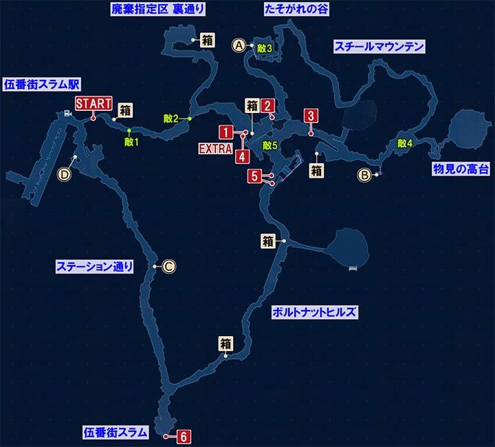 Ff7 世界 地図