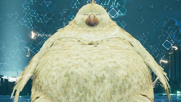 FF7リメイク版の召喚獣『デブチョコボ』の画像