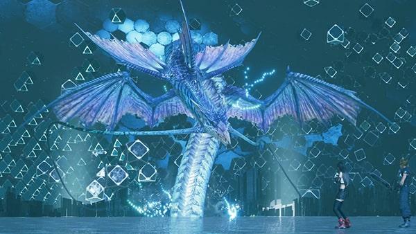 FF7リメイク版の召喚獣『リヴァイアサン』の画像