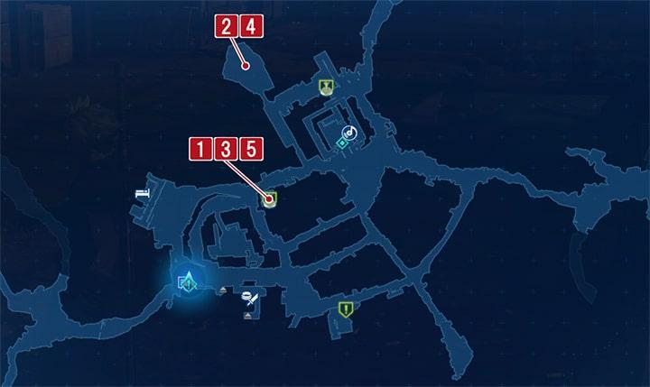化けネズミの軍団の攻略マップ