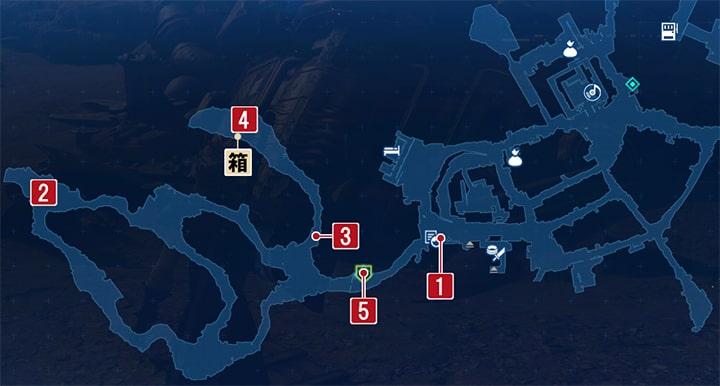 さまよう軍犬の攻略マップ