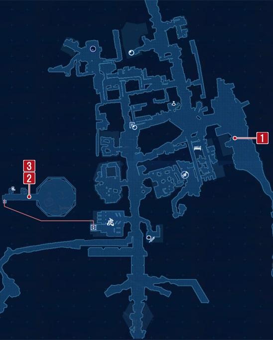 爆裂ダイナマイトボディの攻略マップ