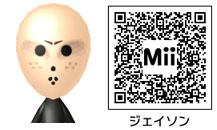 ジェイソンのMiiのQRコード