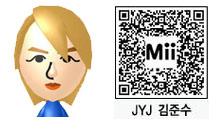 JYJ・ジュンスのMii(QRコード)