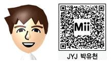 JYJ・ユチョンのMii(QRコード)