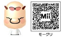 モーグリのMiiのQRコード