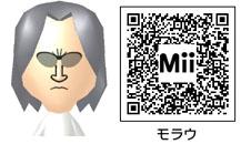 モラウのMiiのQRコード