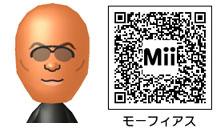 モーフィアスのMiiのQRコード