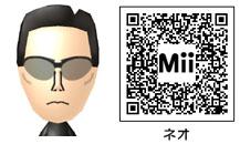 ネオのMiiのQRコード