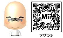 アザラシのMiiのQRコード