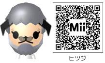 羊のMiiのQRコード
