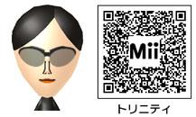 トリニティのMiiのQRコード
