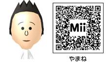 山根のMiiのQRコード