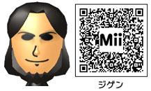 次元大介のMiiのQRコード