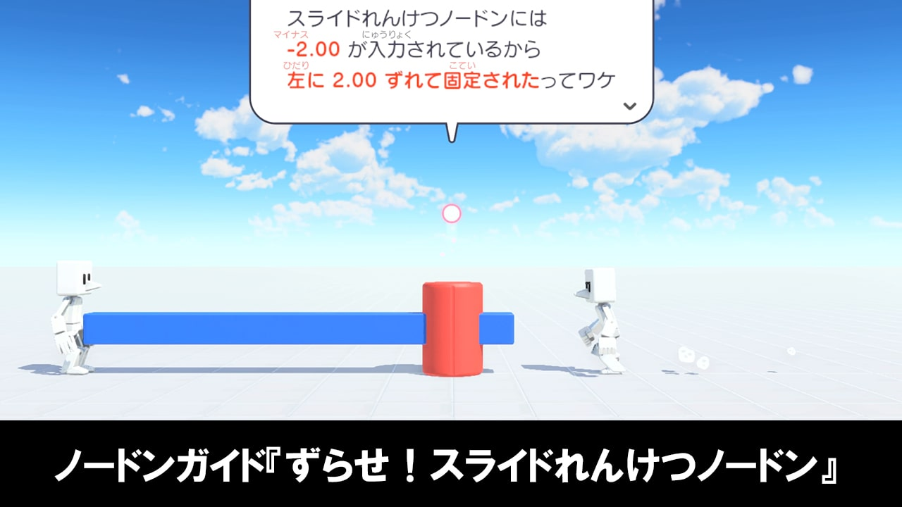 はじめてゲームプログラミングのノードンガイド『ずらせ!スライドれんけつノードン』