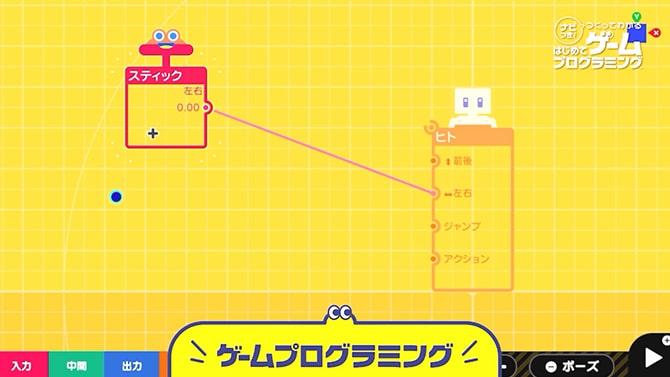 ノードンで繋いでゲームプログラミング