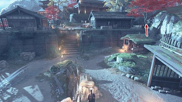 高野山砦の攻略ルート