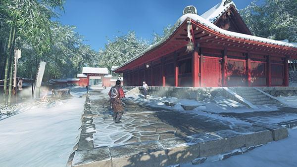 浮世草のハーンの鎧の発生場所の城岳寺