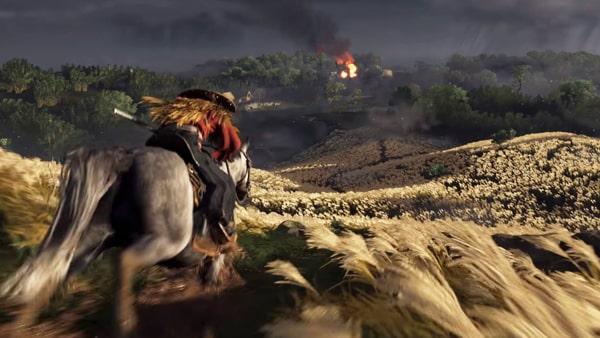 ゴーストオブツシマの馬
