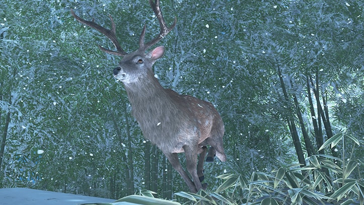 ゴーストオブツシマの鹿