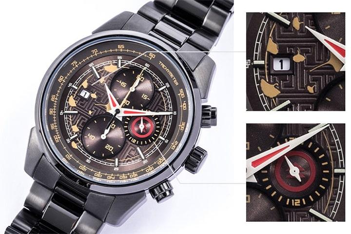 ゴーストオブツシマデザインの腕時計