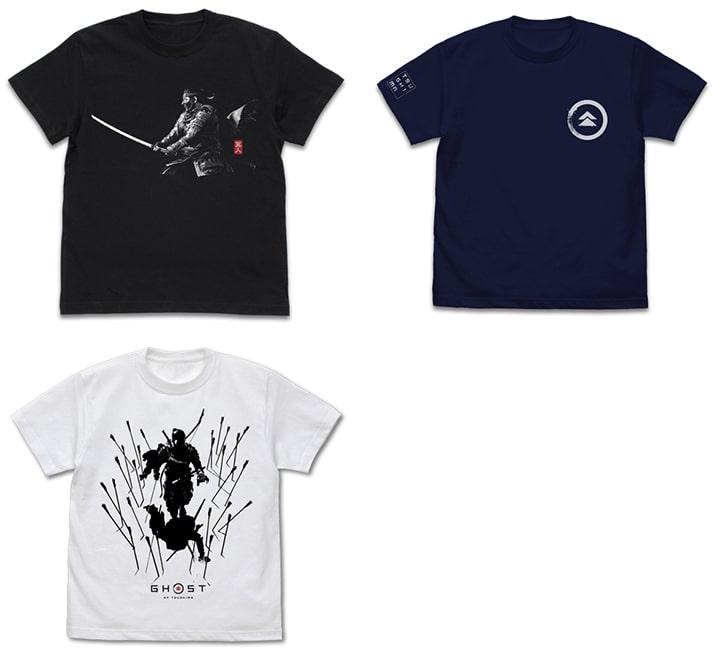 ゴーストオブツシマデザインデザインのTシャツ