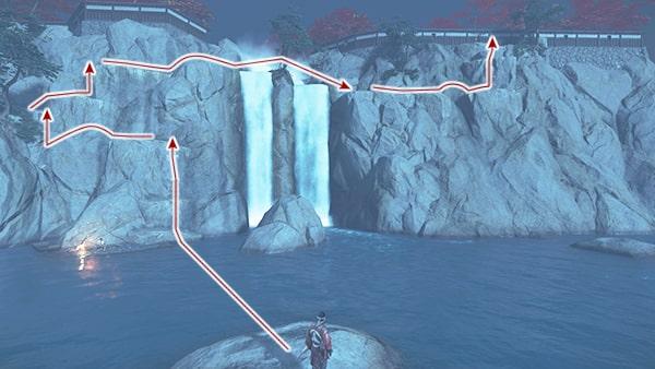 志村城への侵入方法の攻略ルート