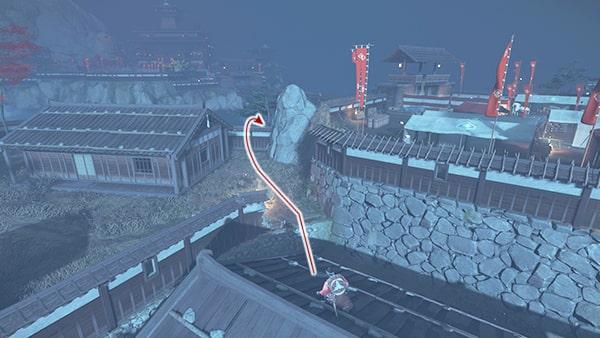 志村の座敷への攻略ルートその3