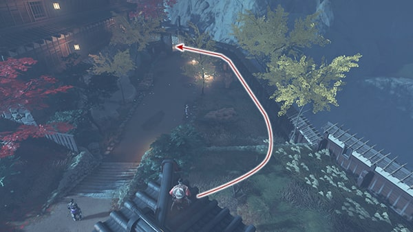 志村の座敷への攻略ルートその7