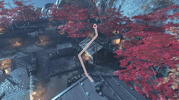 志村城の脱出の攻略ルートその2