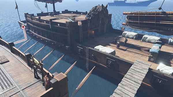 2隻目の船に移る攻略ルート