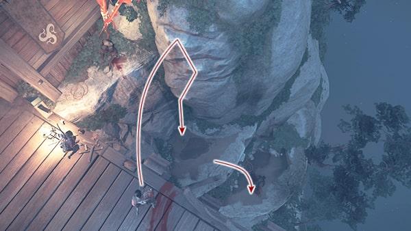 門を開ける方法の攻略ルートその1